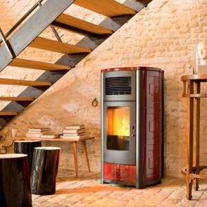 MCZ Biomass boiler-stove